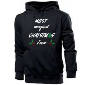Men's hoodie Most magical Christmas ever
