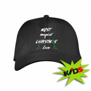 Kids' cap Most magical Christmas ever