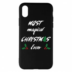 Phone case for iPhone X/Xs Most magical Christmas ever