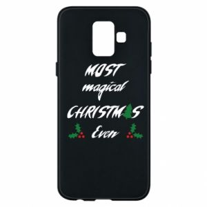 Phone case for Samsung A6 2018 Most magical Christmas ever