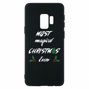 Phone case for Samsung S9 Most magical Christmas ever