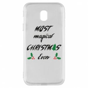 Phone case for Samsung J3 2017 Most magical Christmas ever