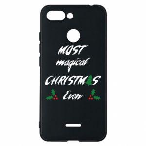 Phone case for Xiaomi Redmi 6 Most magical Christmas ever
