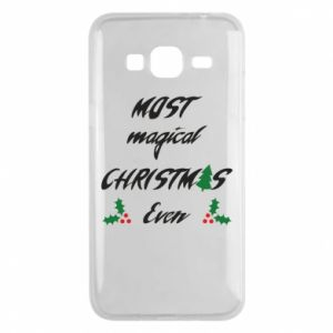 Phone case for Samsung J3 2016 Most magical Christmas ever