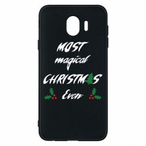 Phone case for Samsung J4 Most magical Christmas ever