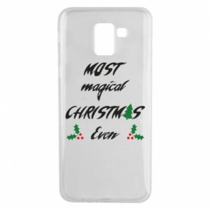 Phone case for Samsung J6 Most magical Christmas ever