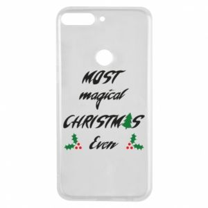 Phone case for Huawei Y7 Prime 2018 Most magical Christmas ever