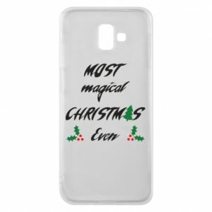 Phone case for Samsung J6 Plus 2018 Most magical Christmas ever