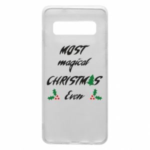 Phone case for Samsung S10 Most magical Christmas ever