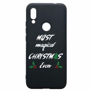 Phone case for Xiaomi Redmi 7 Most magical Christmas ever