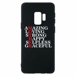 Etui na Samsung S9 MOTHER - PrintSalon