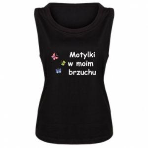 Damska koszulka Motylki w moim brzuchu - PrintSalon