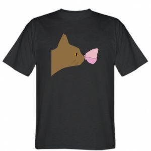 Koszulka Motyl na nosie kota