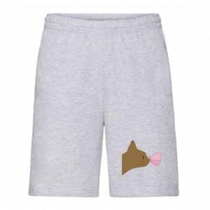 Men's shorts Butterfly on the cat's nose