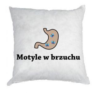 Pillow Motyle w brzuchu