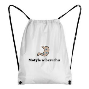 Plecak-worek Motyle w brzuchu