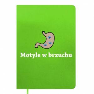 Notes Motyle w brzuchu