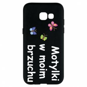 Phone case for Samsung A5 2017 Motilki in my stomach