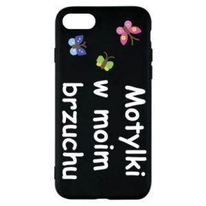 Phone case for iPhone 7 Motilki in my stomach