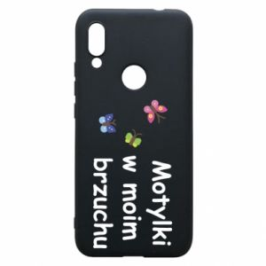 Phone case for Xiaomi Redmi 7 Motilki in my stomach