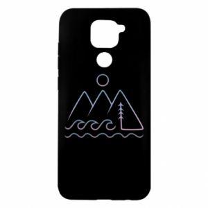 Etui na Xiaomi Redmi Note 9/Redmi 10X Mountains and the sea