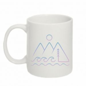 Kubek 330ml Mountains and the sea