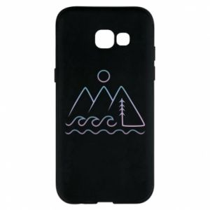 Phone case for Samsung A5 2017 Mountains and the sea - PrintSalon