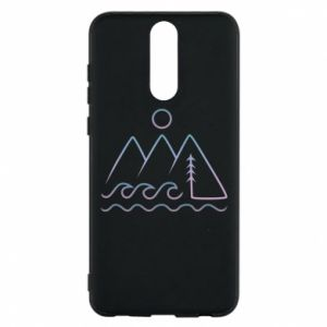 Phone case for Huawei Mate 10 Lite Mountains and the sea - PrintSalon