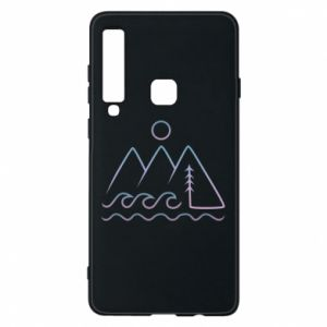 Phone case for Samsung A9 2018 Mountains and the sea - PrintSalon