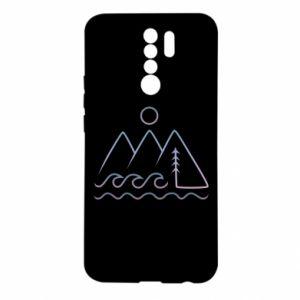 Etui na Xiaomi Redmi 9 Mountains and the sea