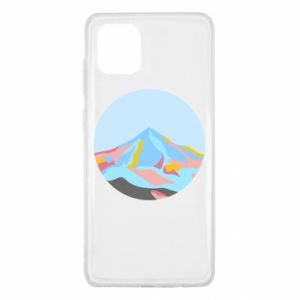 Etui na Samsung Note 10 Lite Mountains in a circle