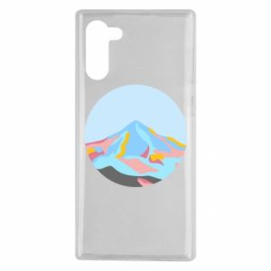 Etui na Samsung Note 10 Mountains in a circle