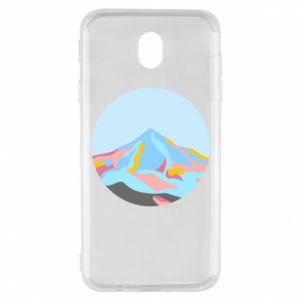 Etui na Samsung J7 2017 Mountains in a circle