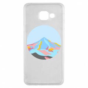 Etui na Samsung A3 2016 Mountains in a circle