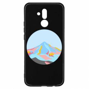 Etui na Huawei Mate 20 Lite Mountains in a circle