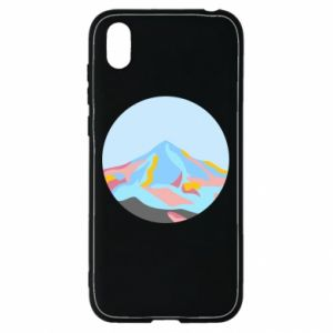 Etui na Huawei Y5 2019 Mountains in a circle
