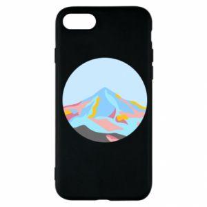 Etui na iPhone SE 2020 Mountains in a circle