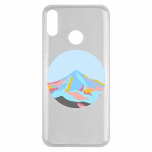 Etui na Huawei Y9 2019 Mountains in a circle