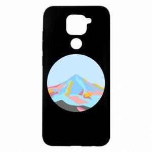 Etui na Xiaomi Redmi Note 9/Redmi 10X Mountains in a circle