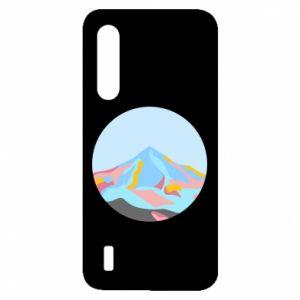 Etui na Xiaomi Mi9 Lite Mountains in a circle