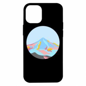 Etui na iPhone 12 Mini Mountains in a circle