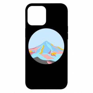 Etui na iPhone 12 Pro Max Mountains in a circle