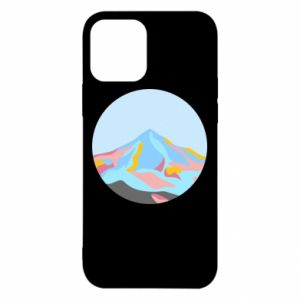 Etui na iPhone 12/12 Pro Mountains in a circle