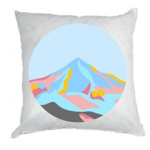 Pillow Mountains in a circle