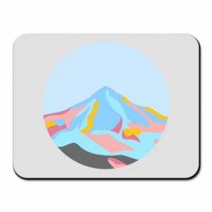 Mouse pad Mountains in a circle