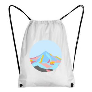 Backpack-bag Mountains in a circle