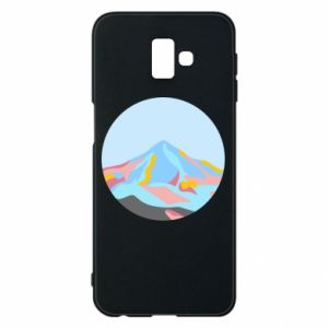 Phone case for Samsung J6 Plus 2018 Mountains in a circle