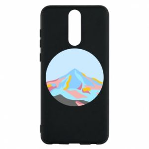 Phone case for Huawei Mate 10 Lite Mountains in a circle