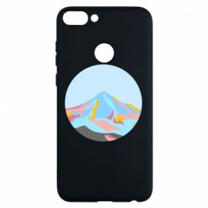 Phone case for Huawei P Smart Mountains in a circle