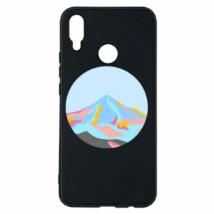 Phone case for Huawei P Smart Plus Mountains in a circle